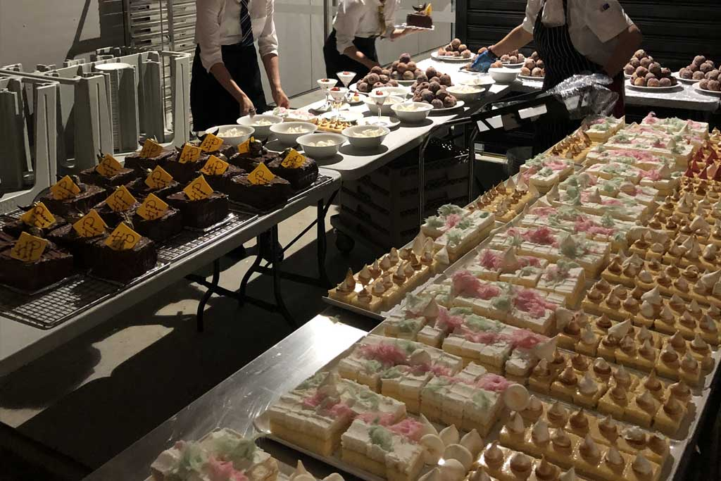 Elevated Catering Hospitality staff