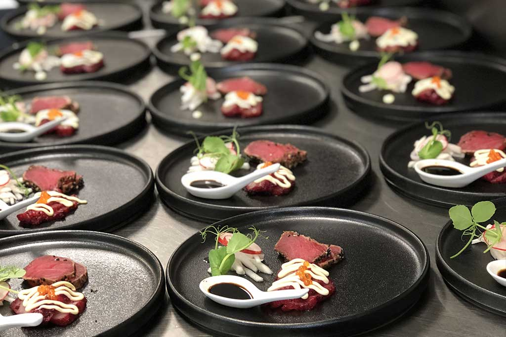 Paranaple Convention Centre Plating up by Elevated Catering